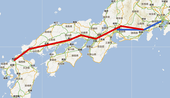 日本 日本一周 ヒッチハイク