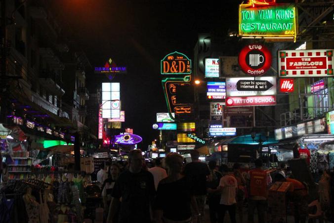 カオサン通り_バンコク