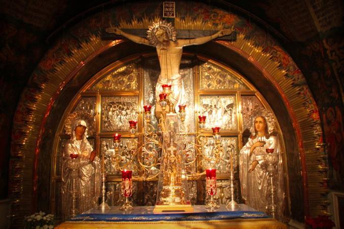 キリスト エルサレム イスラエル キリストが死んだ場所、エルサレム。(エルサレム/イスラエル)
