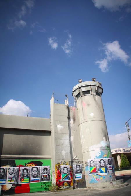 分離壁 ヘブロン イスラエル