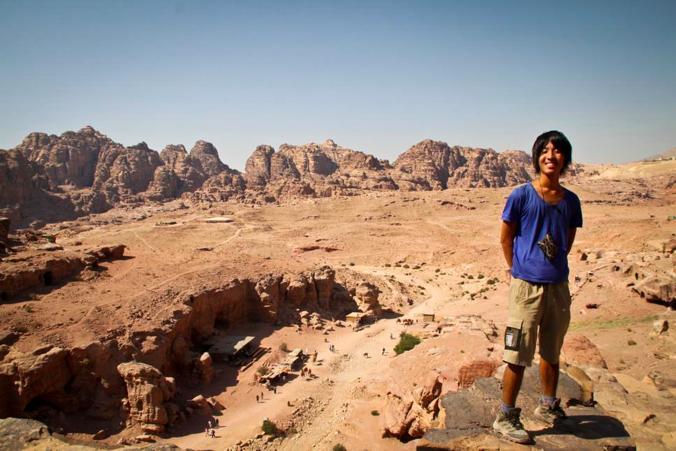 ペトラ遺跡 ヨルダン 中東