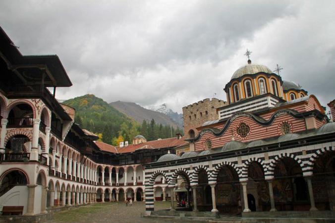 リラの僧院 リラ ブルガリア