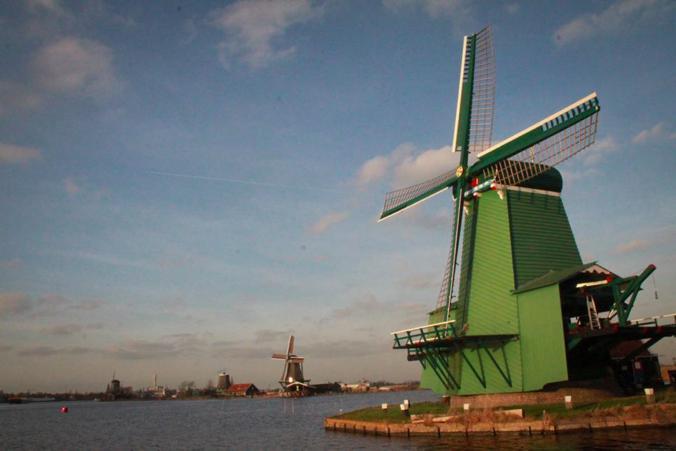風車 アムステルダム オランダ