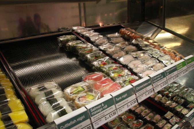 寿司 ロンドン イギリス